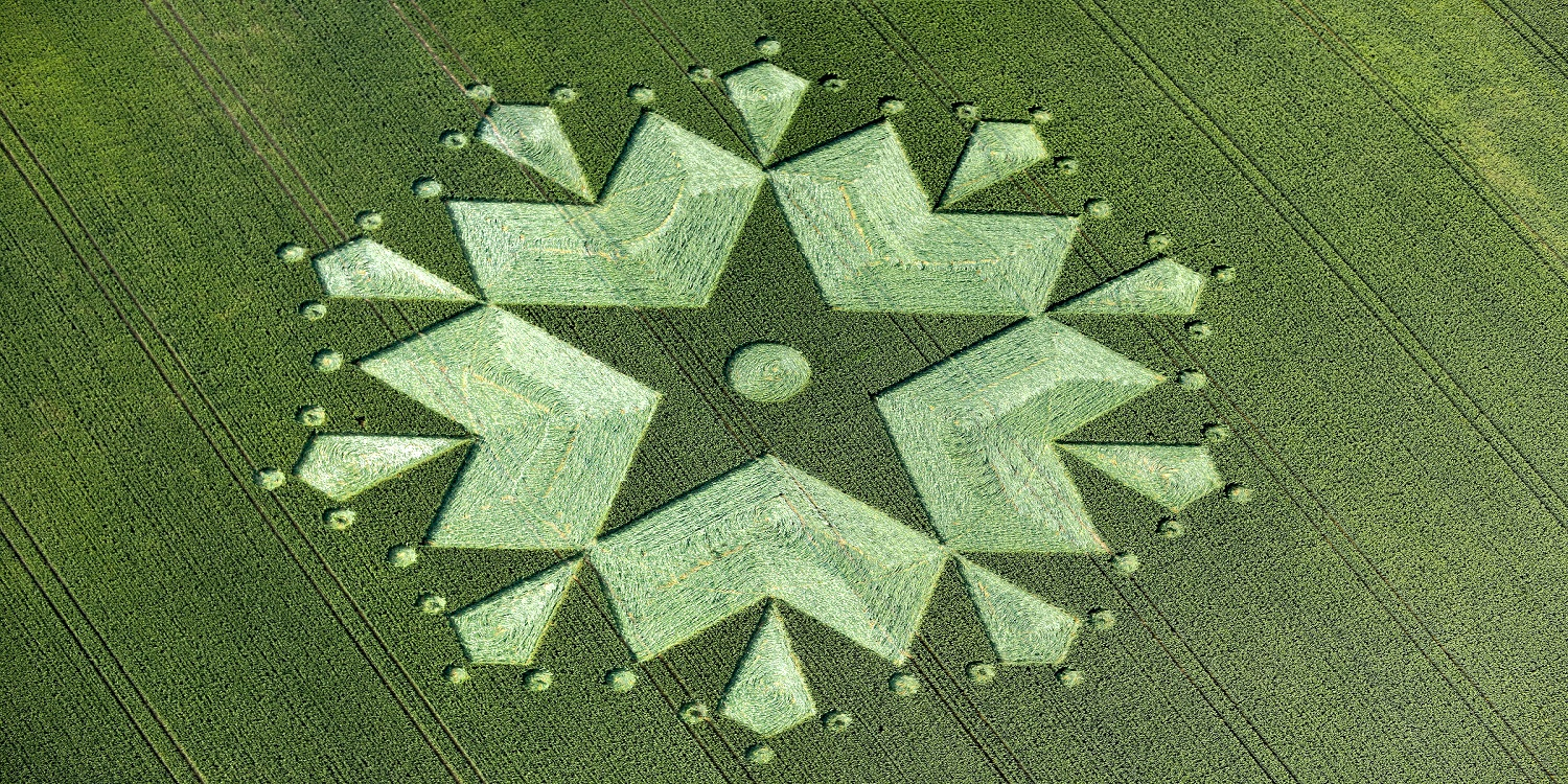 Crop circle Chisbury