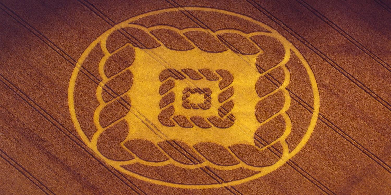 Les crop circles comme œuvres d'art